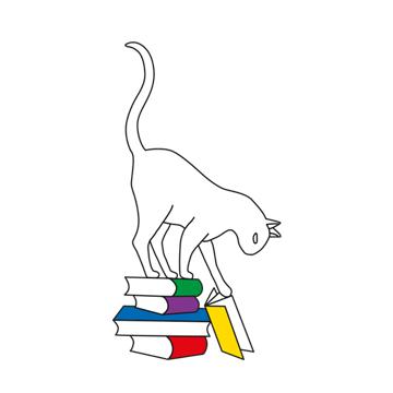 Chat Perché Librairie Logo