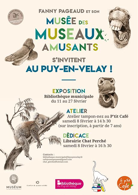 Dédicaces avec Fanny Pageaud à la Librairie Chat Perché, Le Puy-en-Velay